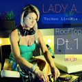 ALiCE {Lady A.} - RoofTop Pt.1 ( Techno LiveMix 09.1_21)