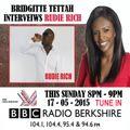 RUDIE RICH LIVE INTERVEIW ON BBC RADIO BERKSHIRE ( 17 - 05 - 2015 )