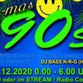 DJ BASS N-R-G @ Schallwurm X-MAS 90s-2020_12_27 > Radio Corax