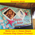 Melly Lou @ Ocean Beach Pirlanta Plajı Çeşme [TR] (2018-08-18)