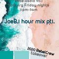 Joe b. rebelradio 90.1houston Kpft.org dj mix pt1