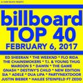 BILLBOARD TOP 40 (*clean* 2-6-17*)