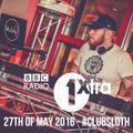 BBC 1Xtra #ClubSloth   Hip-Hop & R'n'B   27/05/16