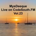 MysDeeque Live on CodeSouth.FM Vol.23