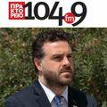 Ο Αντιπεριφερειάρχης Τουρισμού ΑΜ-Θ Αθ.Τσώνης στο ΠΡΑΚΤΟΡΕΙΟ FM
