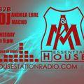 Essential House - 24 May 2017 Andrea Erre & Macho Dj B2B - Live @Housestationradio - Only Vinyl