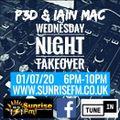 Iain Mac & P3D B2B live on SunriseFM 01.07.20