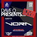 Dave Q Presents... LIVE with VORA - 9th April 2021