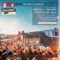 Preview at MilkBoy ArtHouse, College Park, MD - Fourth of July 2019 with Christauff & Jon_MFD