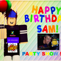DJ Ginge Coldwell 's on line Birthday Party for Sam Curtis of Brighton  41st Birthday 41st