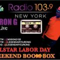 DJ RON G 2015 LABOR DAY MIX ON 103.9 FM NEW YORK
