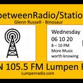 InbetweenRadio/Stations #109 • Glenn Russell & DJ Binosaur • Quarantunes Part 3 • 6/12/2020