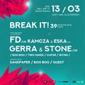 FD, GERRA & STONE showcase mix by BOOBOO