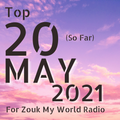 The Top 20 Countdown for 2021 - May Edition