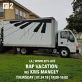 Rap Vacation w/ Kris Mangey - 24th January 2019