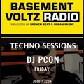 """Paul Conquest presents """"Techno Sessions"""" Broadcast live on Basement Voltz 5th February 1st Hour"""