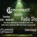 ElektroSpank Radio Show - 20/4/2021 - DarkWaveRadio.net