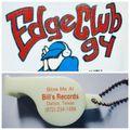 BILL'S RECORDS - EDGECLUB 94 - Commercial Sampler 1991-1995
