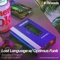 Lost Language w/ Optimus Funk - 27-Feb-21