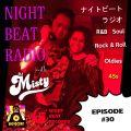 Night Beat Radio #30 w/ DJ Misty