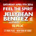 Jellybean Benitez Live Set from #FeelTheSpirit at #ClubRemixNYC April 9th, 2016