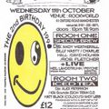 Rob Fletcher Herbal Tea Party 2nd birthday 11 October 1995 - 6.30am @ Rockworld Manchester