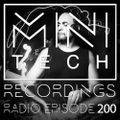 MTR Radio #200 Minitech Project Live @ Cult House Sunburn Select