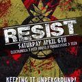 JustJimmy - RESIST - March 19 - live on  Housenation