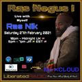 Ras Negus I. Live Interview. 27th February 2021. Liberated Radio.