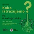 RG/DOB tribina #3: Kako istražujemo donošenje odluka? (gošća: dr Kaja Damnjanović) [19-05-2021]