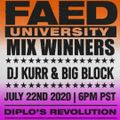 FAED University Episode 119 featuring DJ Kurr & Big Block