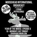 Moosehead International Broadcast (10/08/2016)
