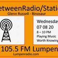 InbetweenRadio/Stations #111 • Glenn Russell & DJ Binosaur  Quarantunes Part 5  7/08/2020