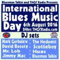 International Blues Day Mix #2 on TNGC Radio