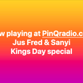Sanyi & Jus Fred on Kingsday- 27042020