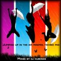 Jumping up in the air minimal techno mix