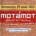 Mot à Mot 2021, 2e édition du festival de l'écriture à Mulhouse