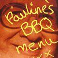 Pauline's BBQ Menu