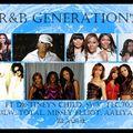 R&B GENERATION'S feat DESTINEYS CHILD,SWV,TLC,702,3LW,TOTAL, MISSEY ELLIOTT,AALIYAH, BLAQUE AND MORE