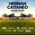 Hernan Cattaneo - Live @ Sunsetstrip, Campo De Polo, Buenos Aires 29-02-2020