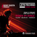 Roby M Rage at Lets Techno Radio Show - February 2020