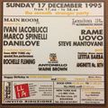 Marco Spinelli & Ivan Iacobucci @ New York Bar Bologna 17-12-1995(Rochelle Fleming Live)