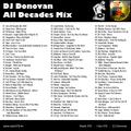 DJ Donovan presents: Radio 078 All Decades Mix