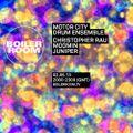 Motor City Drum Ensemble 55 min Boiler Room Mix