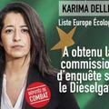 Karima Delli, eurodéputée écologiste (EELV) au Parlement Européen.