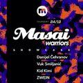 Vuk Smiljanic - Masai Warriors Showcase at Disko Bar Mladost 24-12-2015