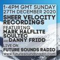 Sheer Velocity Radio Show 27th December 2020