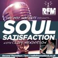 The Pop Society Presents .. Soul Satisfaction with Clive Henderson, March 11 2021