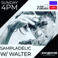 Sampladelic and Walter. The Garage House Radio. 1st August 2021