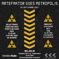 ARTEFAKTOR GOES METROPOLIS SESSION 25 DE SEPTIEMBRE
